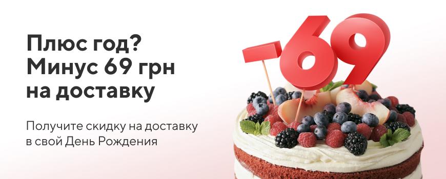Акция «Счастливый День Рождения»